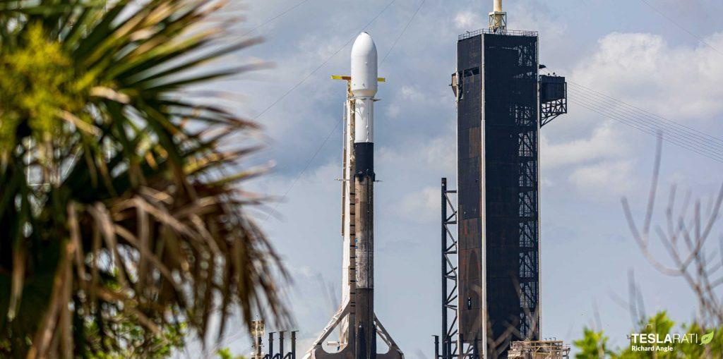 Ракета SpaceX Falcon 9, чтобы начать напряженный месяц запусков с 10-й миссией Starlink