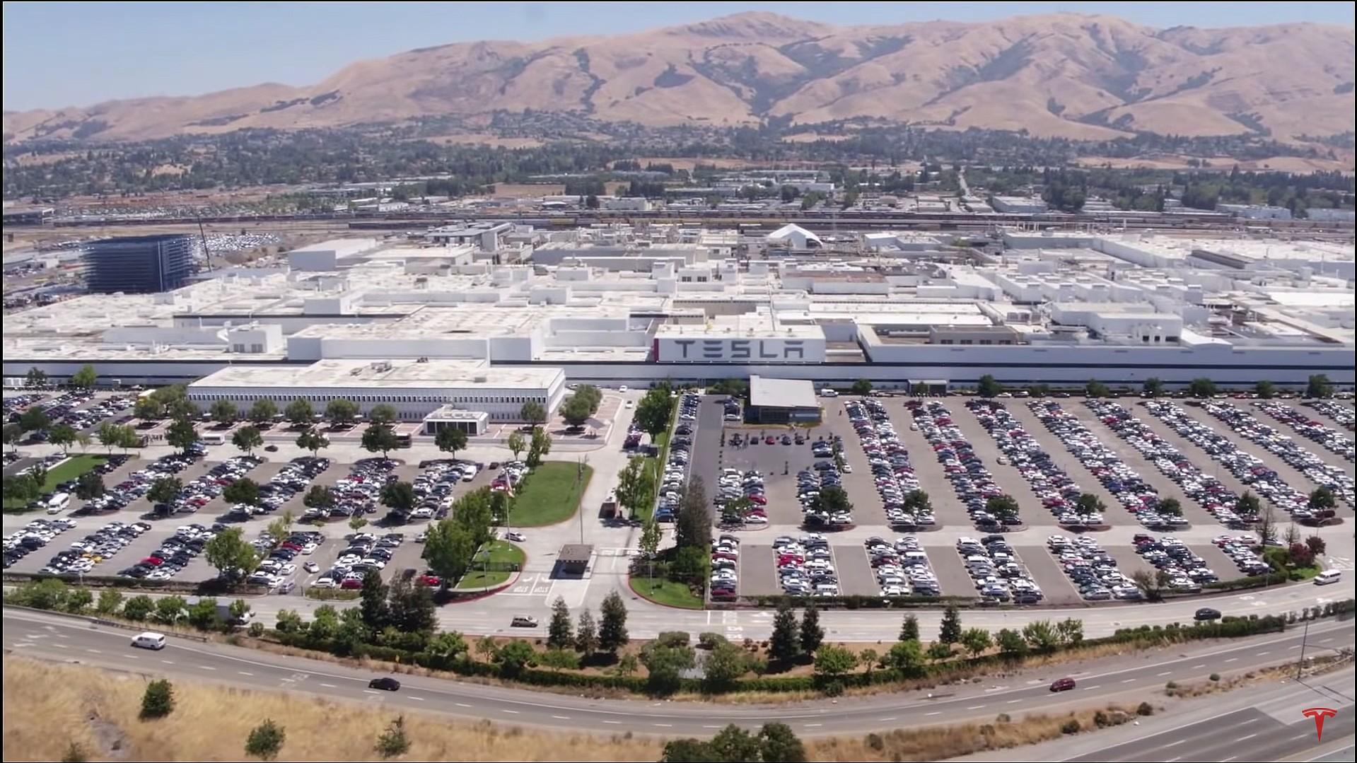 Tesla расширяет производственные линии Fremont для модели Y