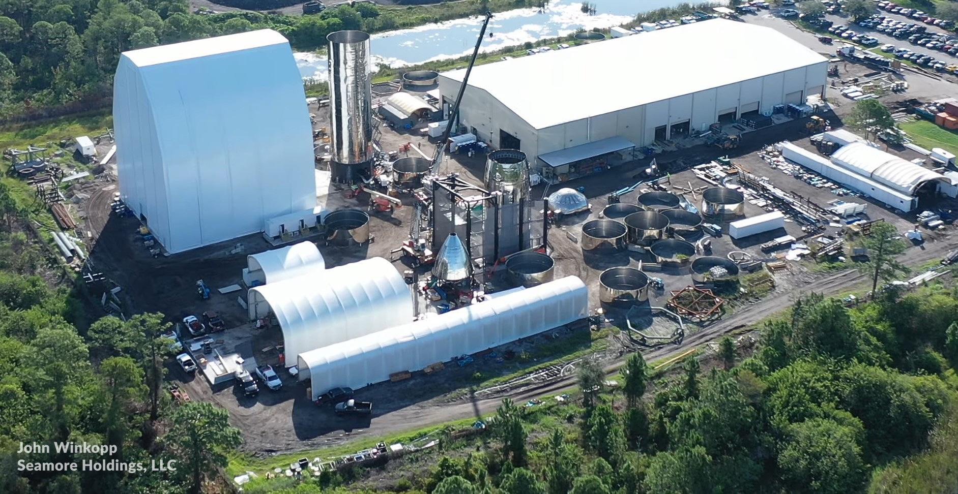 SpaceX утилизирует прототип Florida Starship Mk2