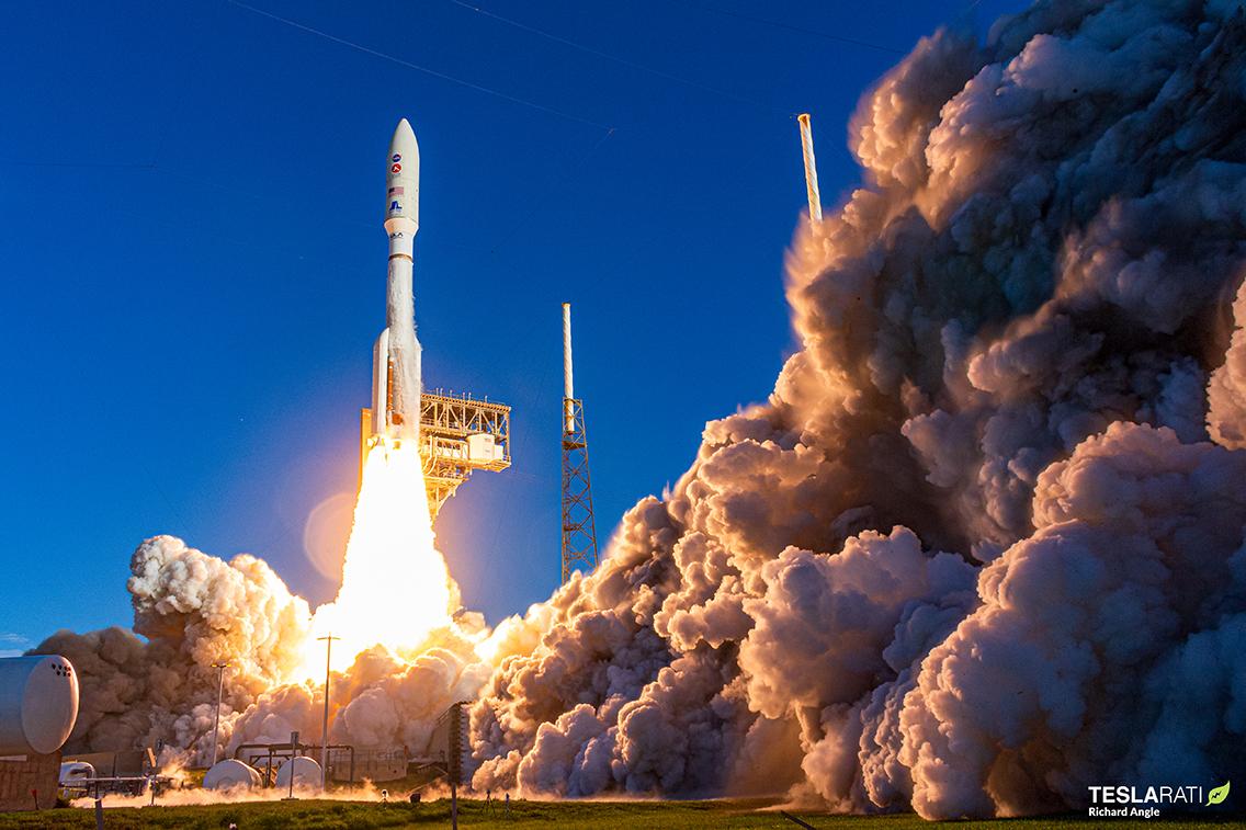 Mars Rover НАСА запускает ракету ULA для полета на красную планету