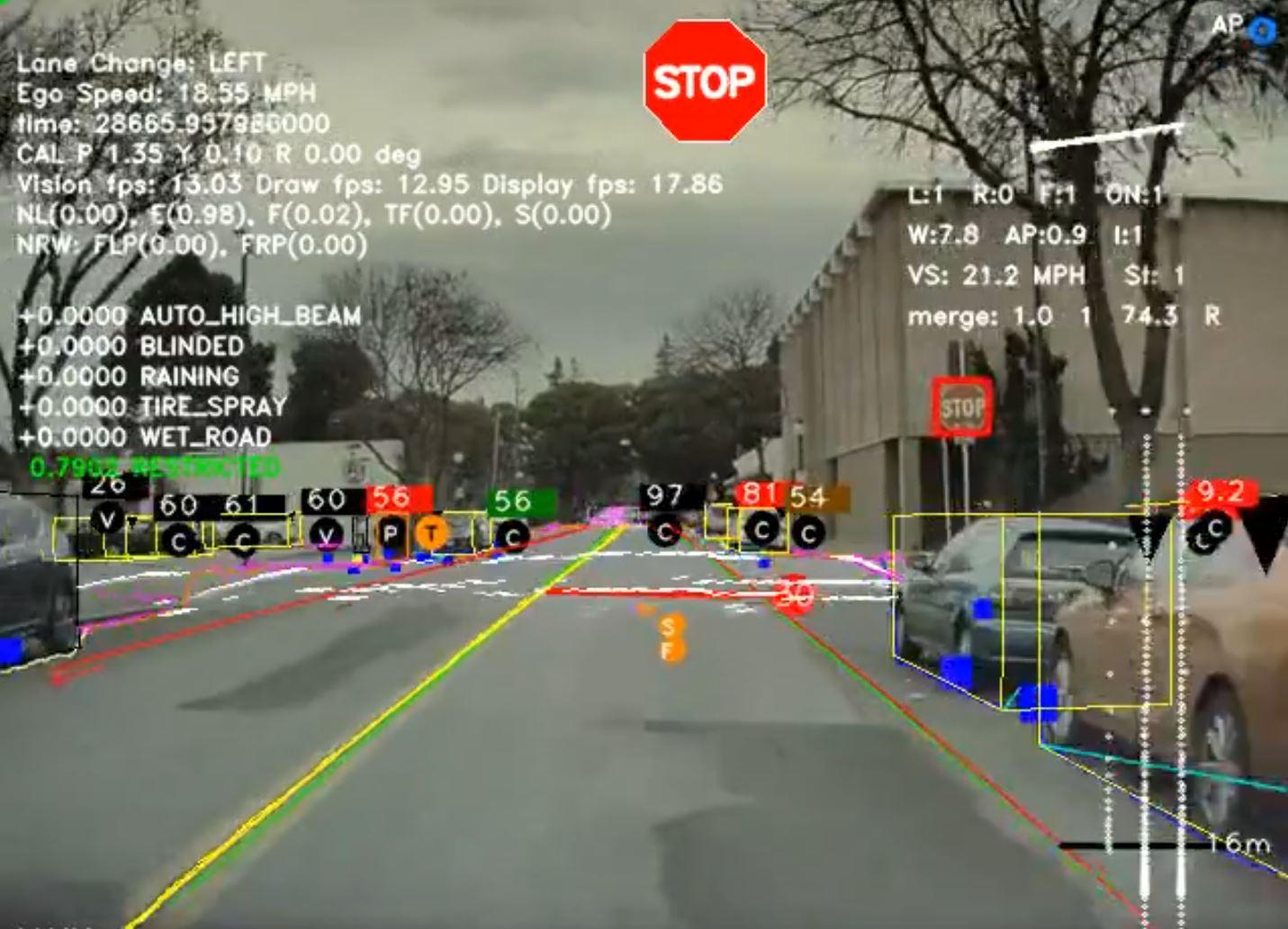 4D обновление Tesla Autopilot может привести к расширению возможностей FSD