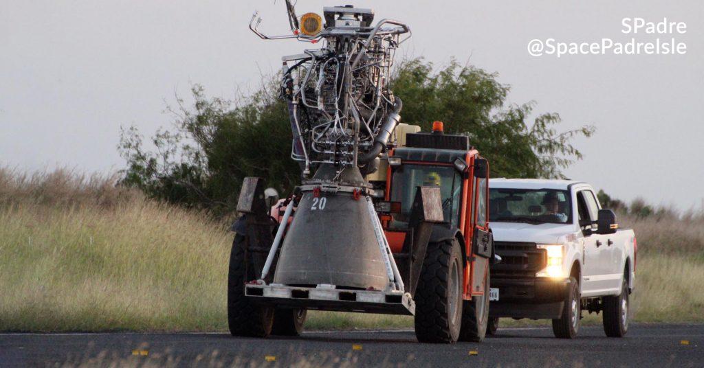 Прототип SpaceX Starship выдерживает первые испытания двигателя Raptor