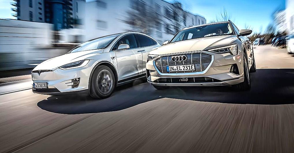 Тесла не впереди в технологии литий-ионных аккумуляторов, говорит генеральный директор Audi: «Мы догоняем»