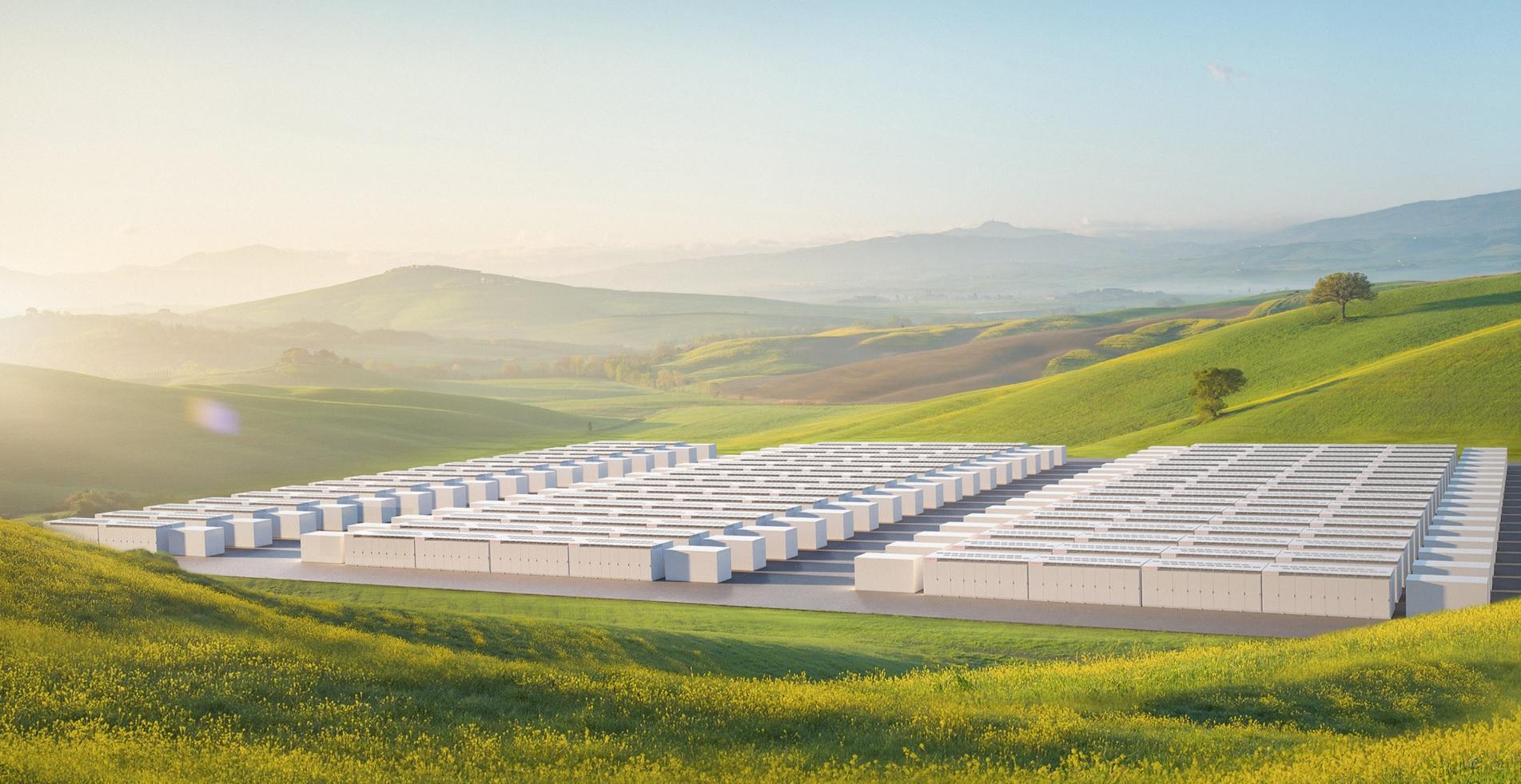 Tesla установит 800 МВтч аккумуляторы Megapack для инициативы NV Gigawatt 1
