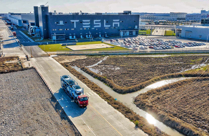 Тесла занимает 23% всего рынка электромобилей Китая в июне;  Продажи модели 3 выросли на 35%