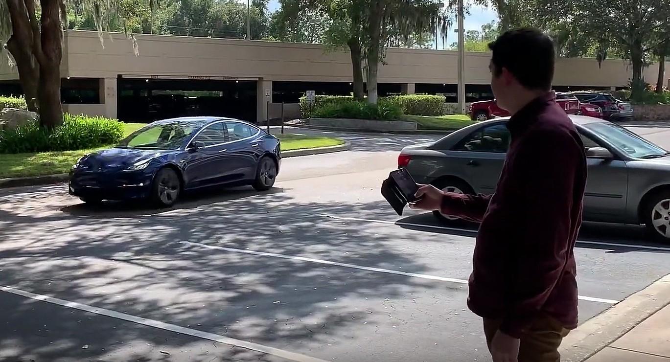 Патент Tesla Smart Summon свидетельствует о прогрессе в области 3D-маркировки для всех функций автономного вождения