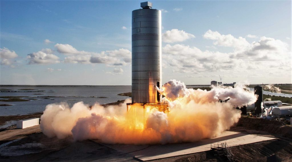 Второй скачок космического корабля SpaceX неизбежен после статического огневого испытания Raptor