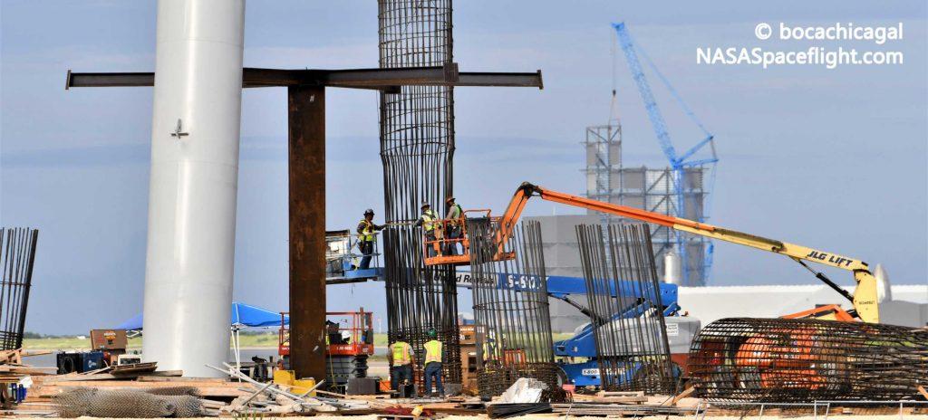 SpaceX начинает строительство стартовой площадки для космического корабля в Техасе