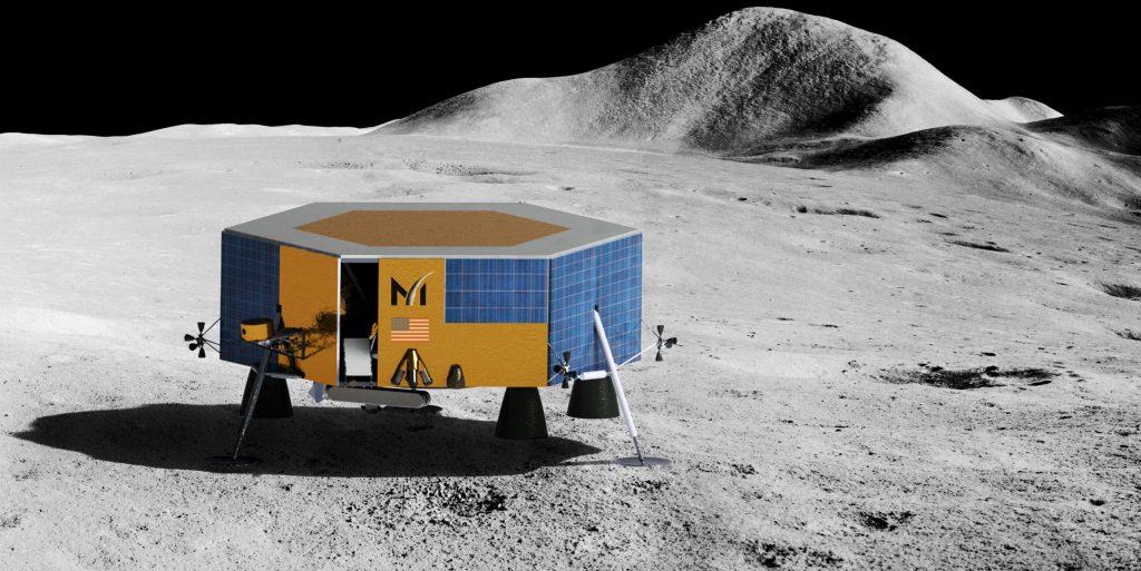 Ракета SpaceX Falcon 9 выиграла четвертый контракт на запуск посадочного модуля на Луну