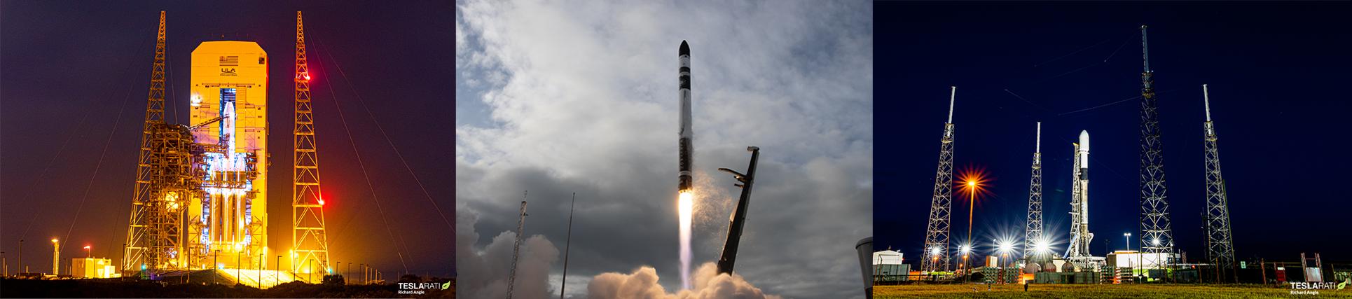 SpaceX, Rocket Lab, ULA запланировали запуск ракет на эти выходные