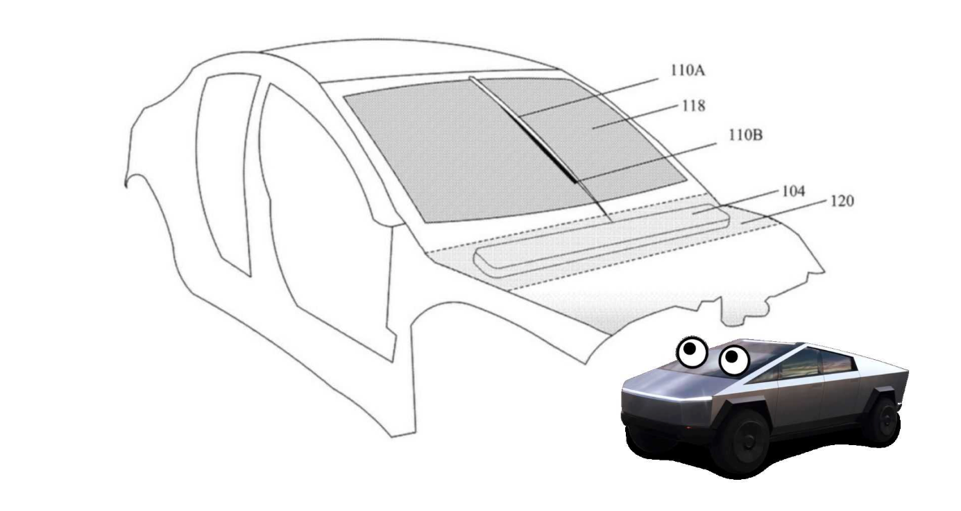 Будет ли революционный стеклоочиститель Tesla дебютировать на Cybertruck?