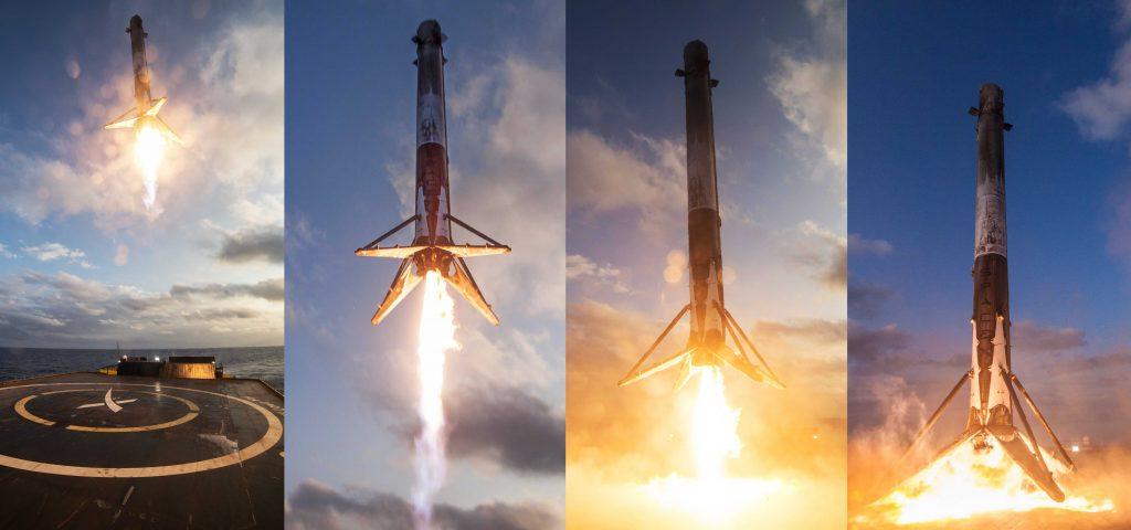 Многоразовые ракеты SpaceX заключили еще два контракта на запуск