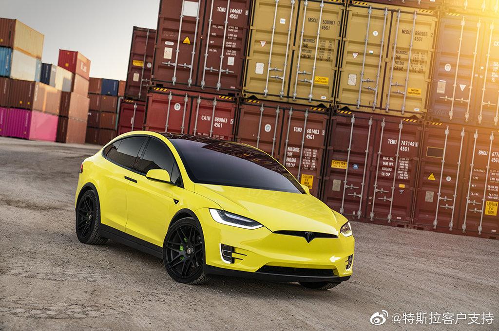 Tesla объявляет о предоставлении услуги по смене цвета в Китае