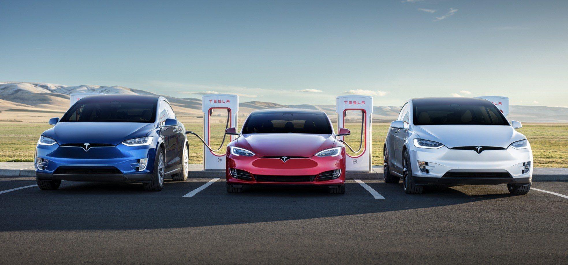 Tesla представила пиковую мощность зарядки 250 кВт для китайских владельцев Model S и X