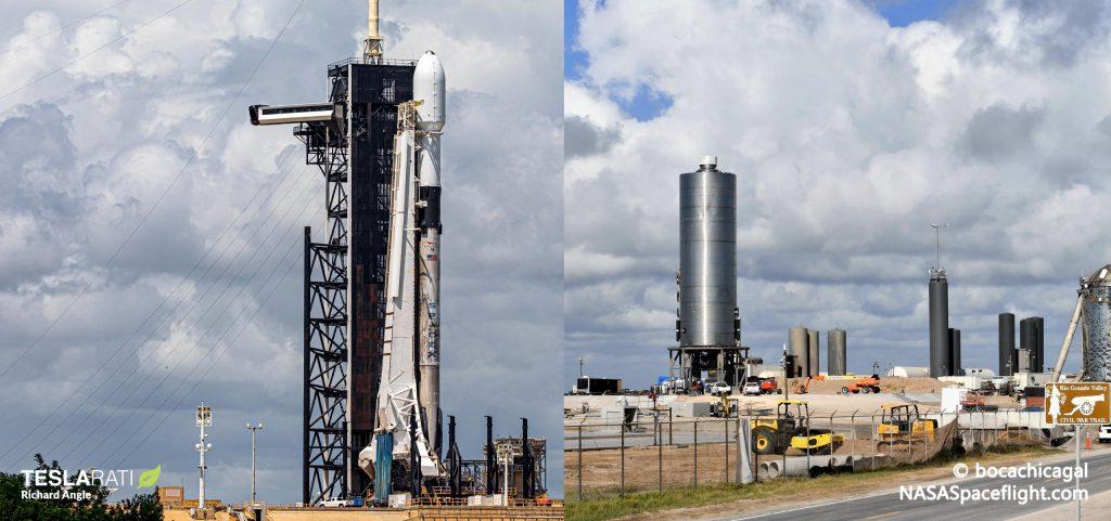 SpaceX готовится к параллельному запуску Starlink, Starship Hop [webcast]