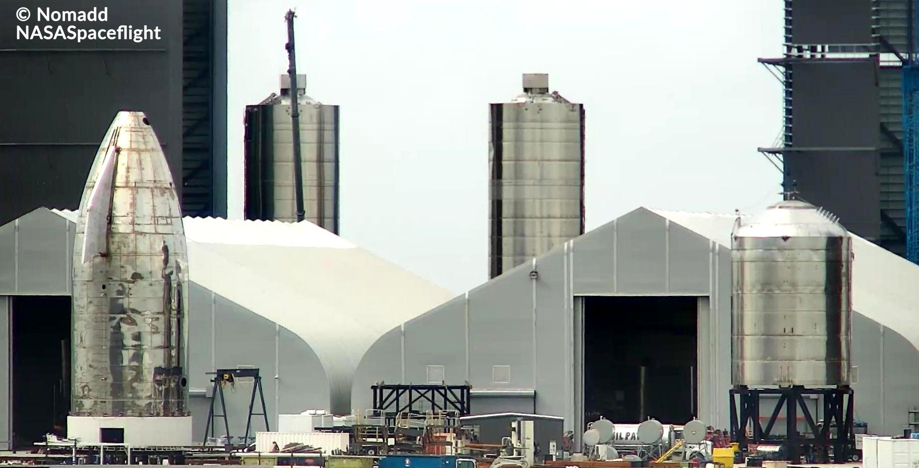 Второй испытанный в полете Starship SpaceX уступает место следующему `` испытательному танку ''