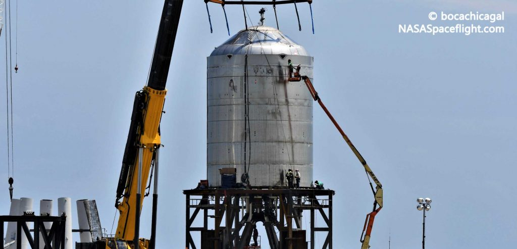 Испытательный танк SpaceX Starship готовится к разрушительному финалу после крио-доказательства
