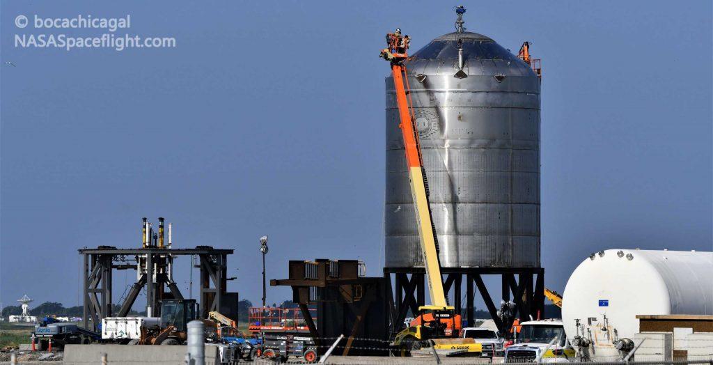 Тестовый танк SpaceX Starship готов к второму выстрелу по уничтожению