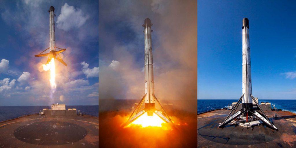 Ракеты SpaceX Falcon выиграли третий подряд контракт НАСА на запуск
