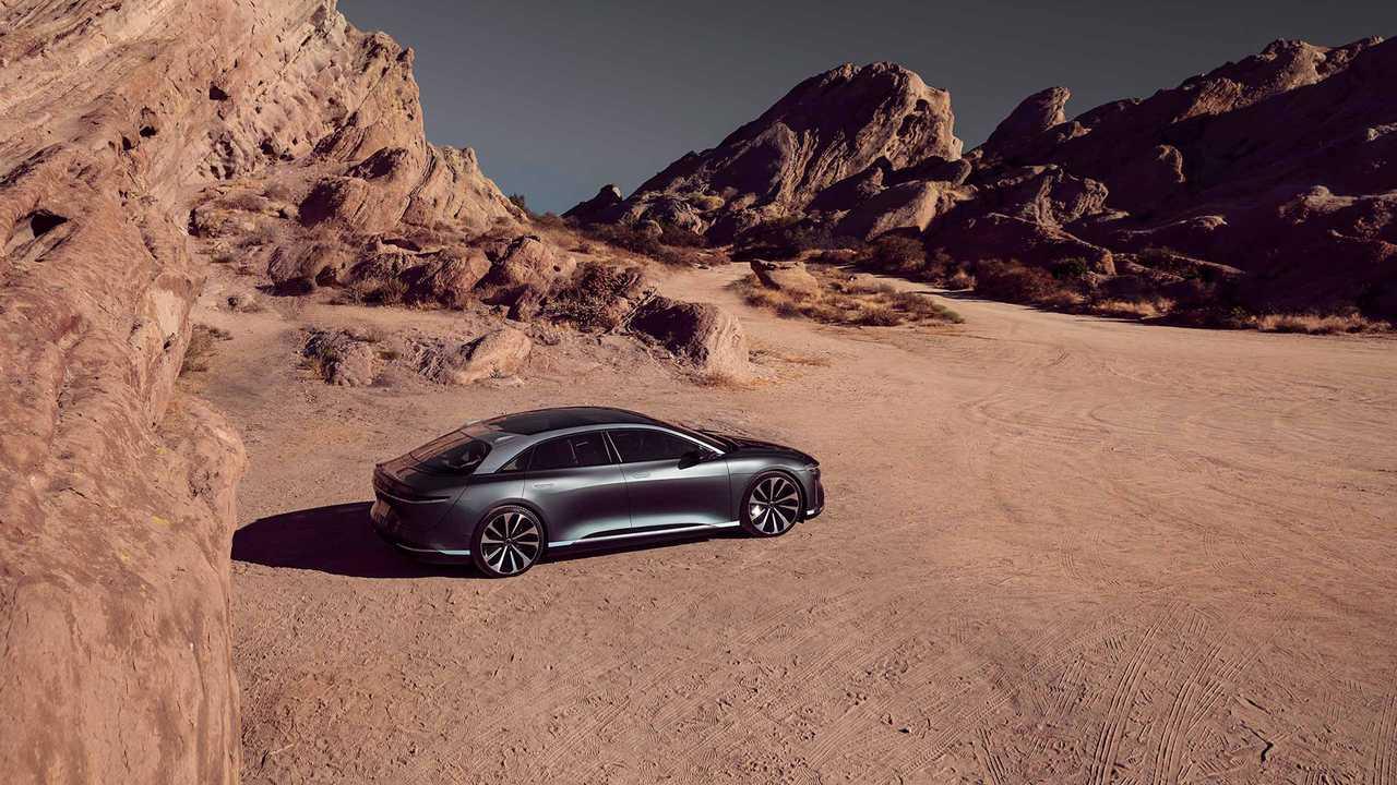 Lucid Motors представит роскошный электромобиль стоимостью 169 тысяч долларов