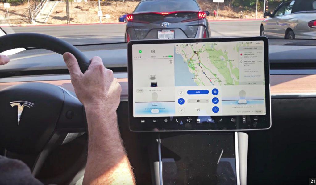 Маск Tesla подтверждает путевые точки навигации для индивидуальных поездок