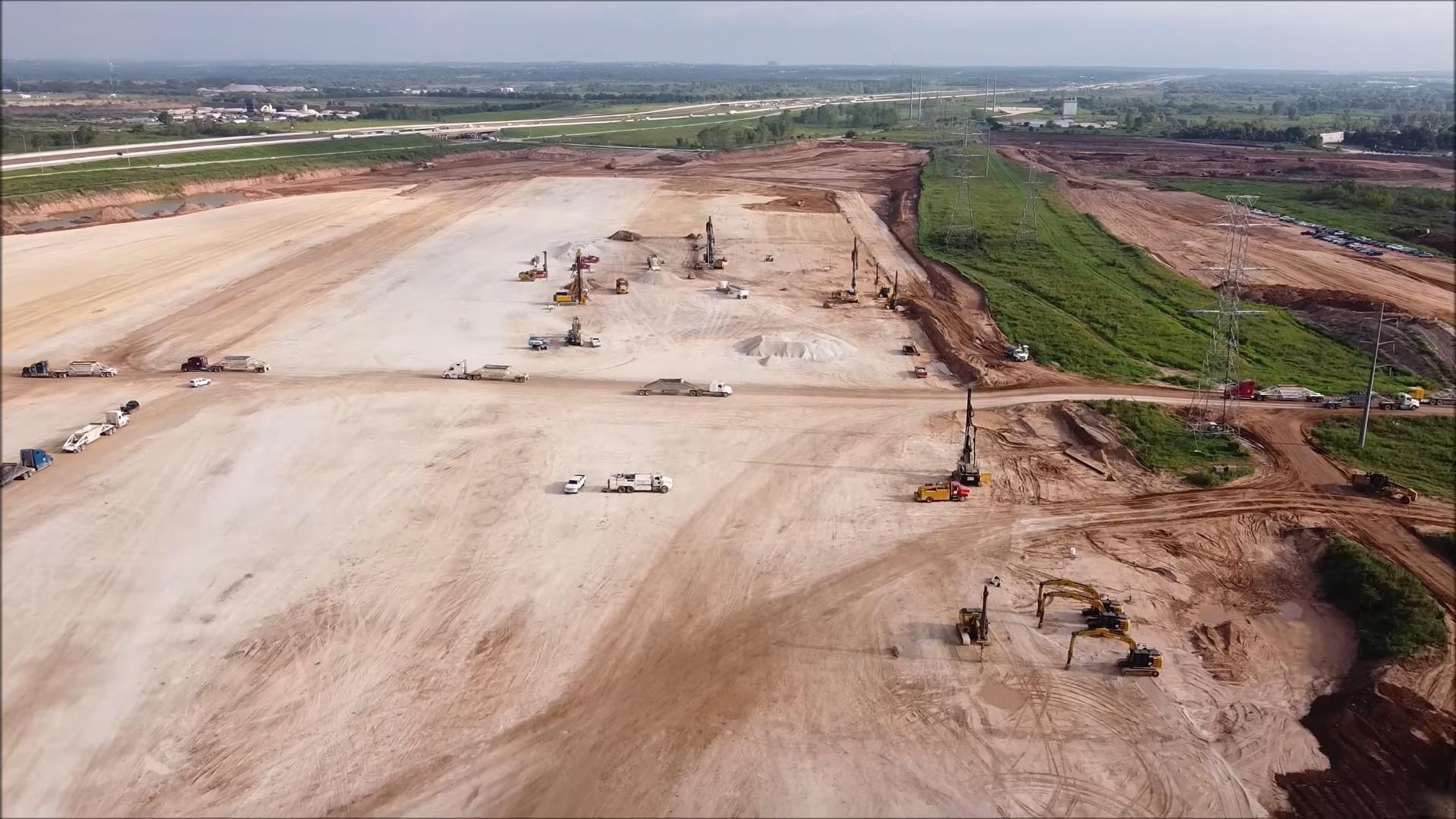 Планы строительства Tesla Gigafactory Texas раскрыты в разрешительных документах