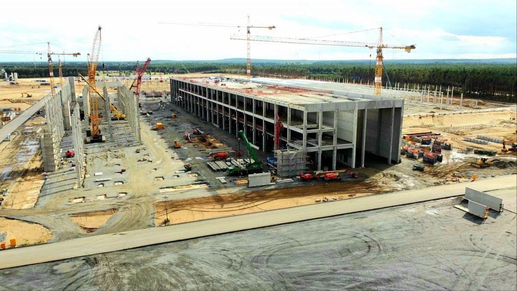 Tesla Gigafactory Berlin столкнется с самым большим противодействием, пока строительство продолжается