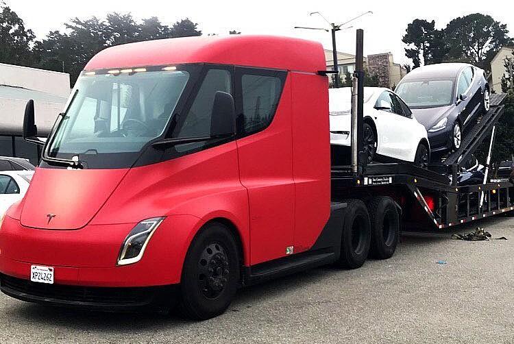 Tesla Semi снова развернута для поставок автомобилей на фоне продолжающегося роста в третьем квартале