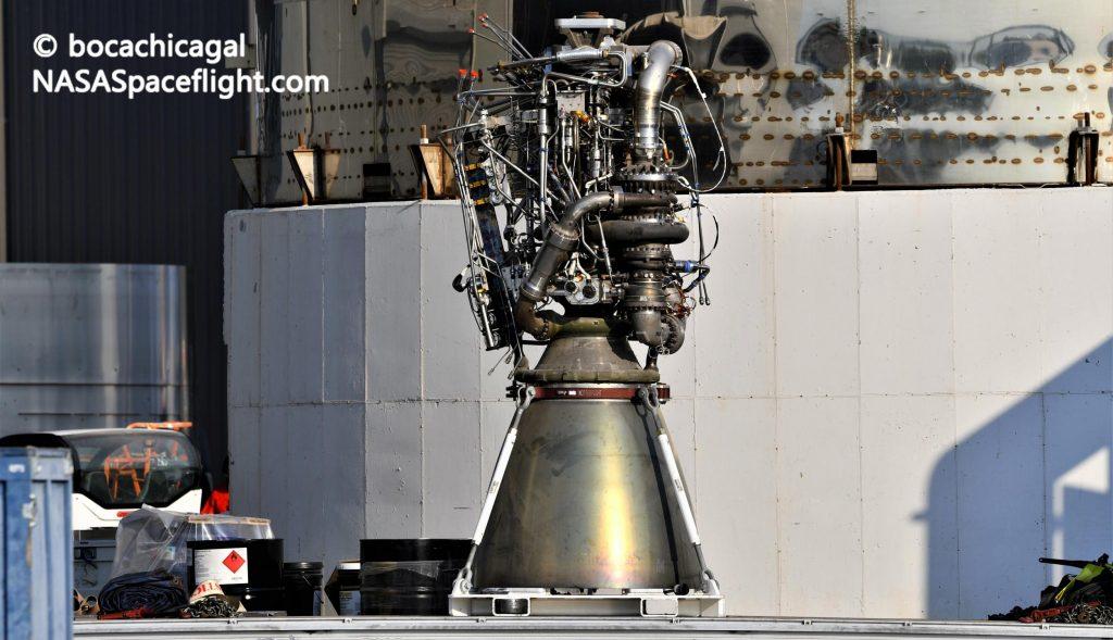Прототип SpaceX Starship готовится к первому статическому огню с тремя двигателями Raptor