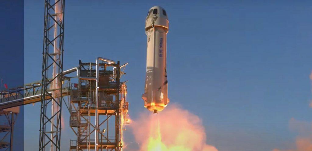 Конкурент SpaceX Blue Origin завершил первый суборбитальный запуск за 10 месяцев