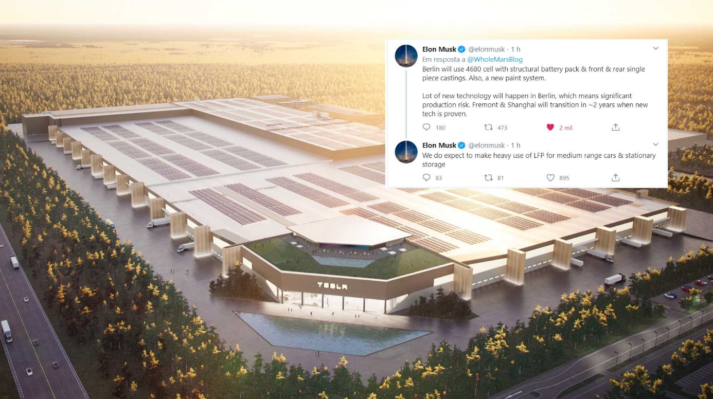 Маск заявил, что в Giga Berlin будут испытаны новые технологии Tesla