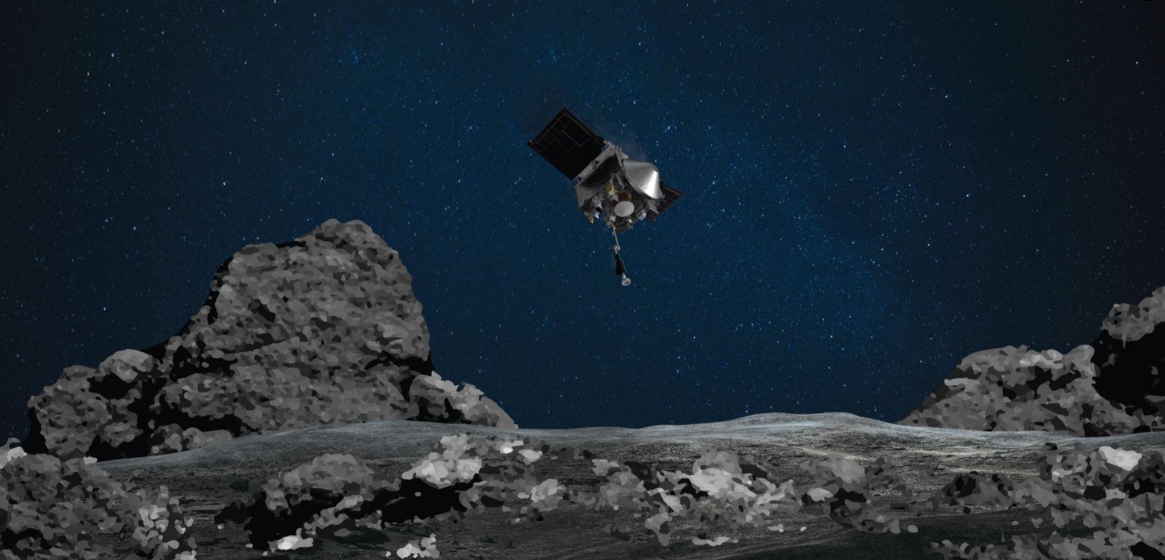НАСА готовится собрать образцы астероидов на следующей неделе в дальнем космосе миссия OSIRIS-REx