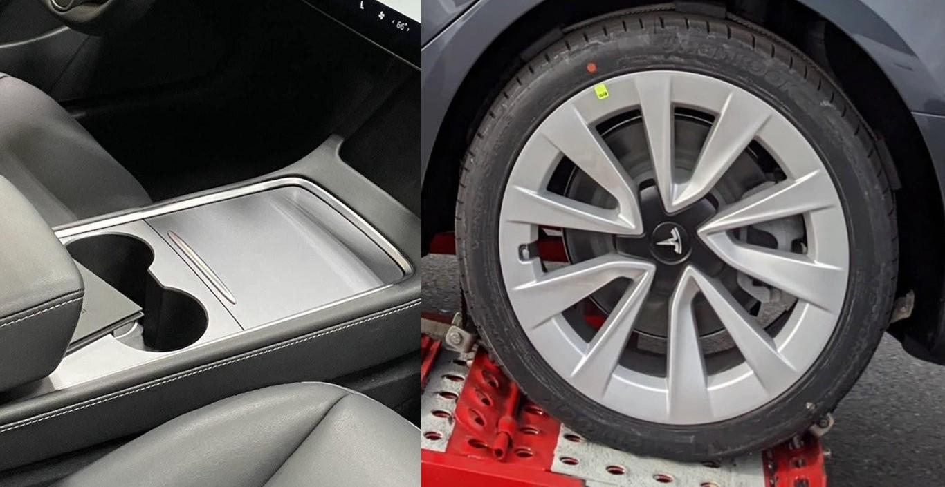 Новая центральная консоль и колеса Tesla Model 3 вызывают разговоры в сообществе электромобилей