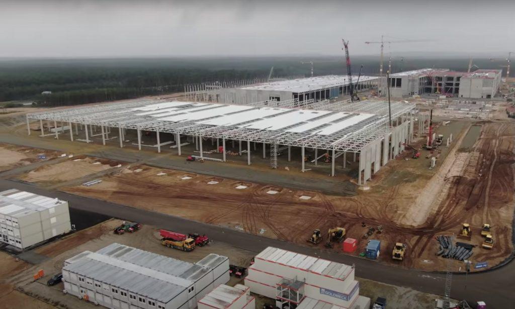 Революционная покрасочная мастерская Tesla Gigafactory Berlin оживает