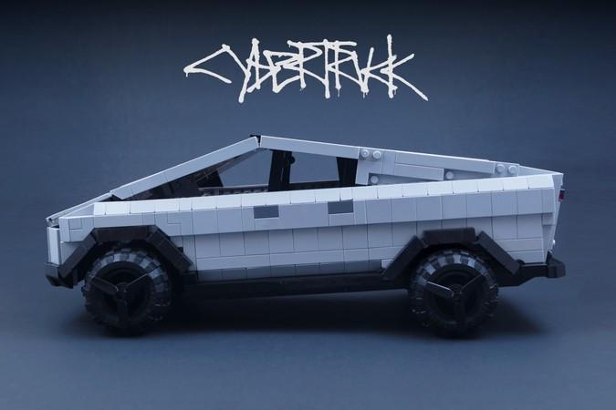 Tesla Cybertruck все-таки не будет доступна в форме LEGO