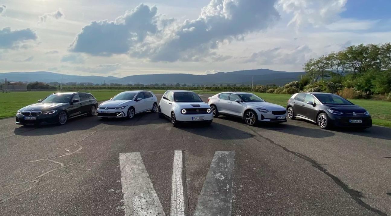 Tesla Model Y отказалась от Polestar 2 и Honda e в конкурсе German Car of the Year 2021 года