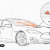 Будут ли у Teslas будущего лазеры для дворников и другие запатентованные инновации?