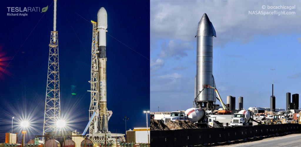 SpaceX попытается осуществить статический огонь звездолета в тот же день, запуск Starlink [livestream]