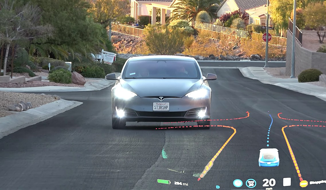 Тест Tesla FSD beta в центре города Лас-Вегаса показывает, что автономия ближе, чем мы думаем