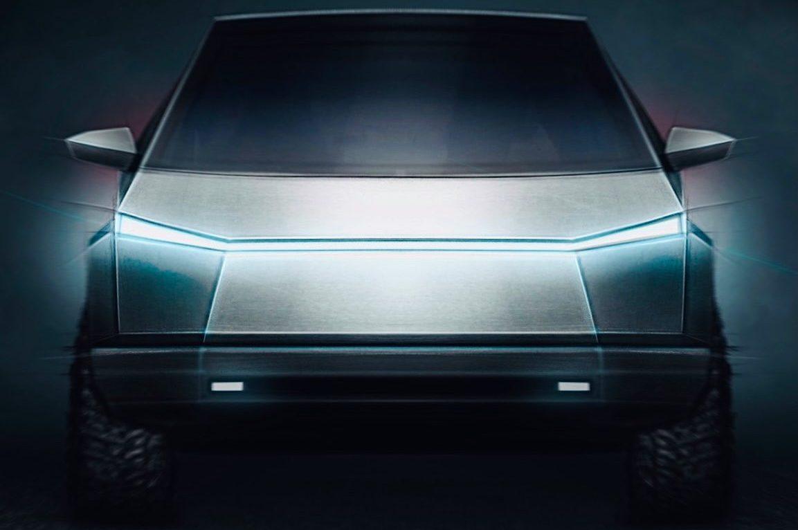 Боковые зеркала Tesla Cybertruck в новом концепт-арте