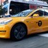 Tesla Model 3 New York желтое такси: первые впечатления от поездки