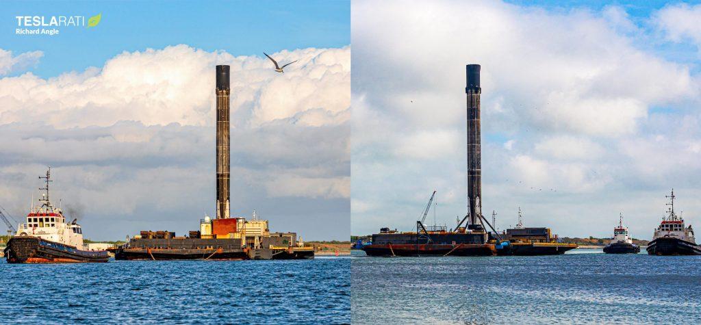 Флот дронов SpaceX добился восстановления двух ускорителей Falcon 9 за 48 часов