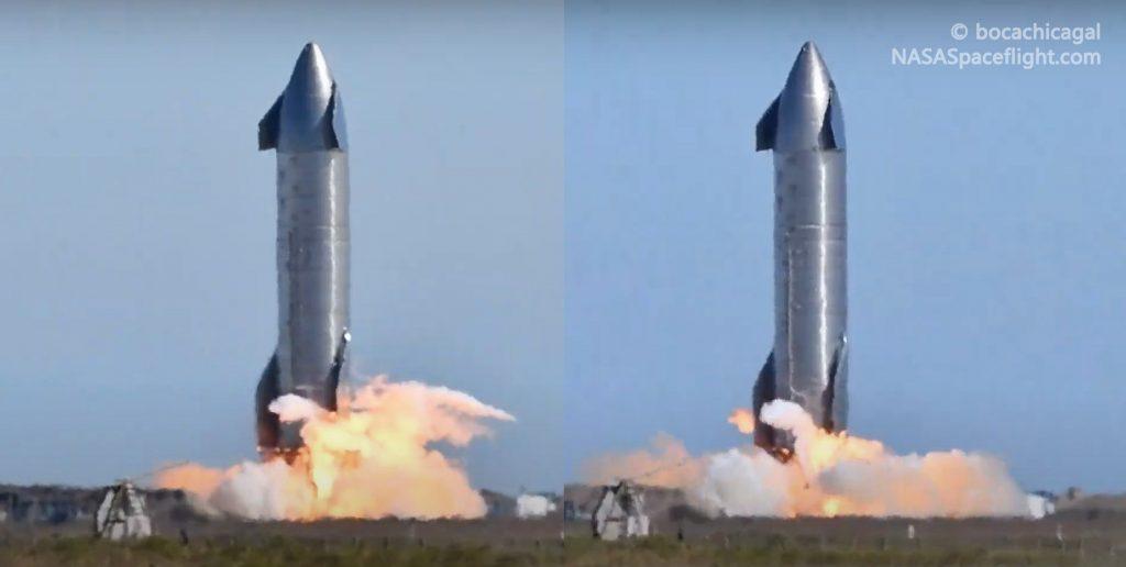 Статическая система SpaceX Starship впервые запускает двигатели Raptor дважды за день