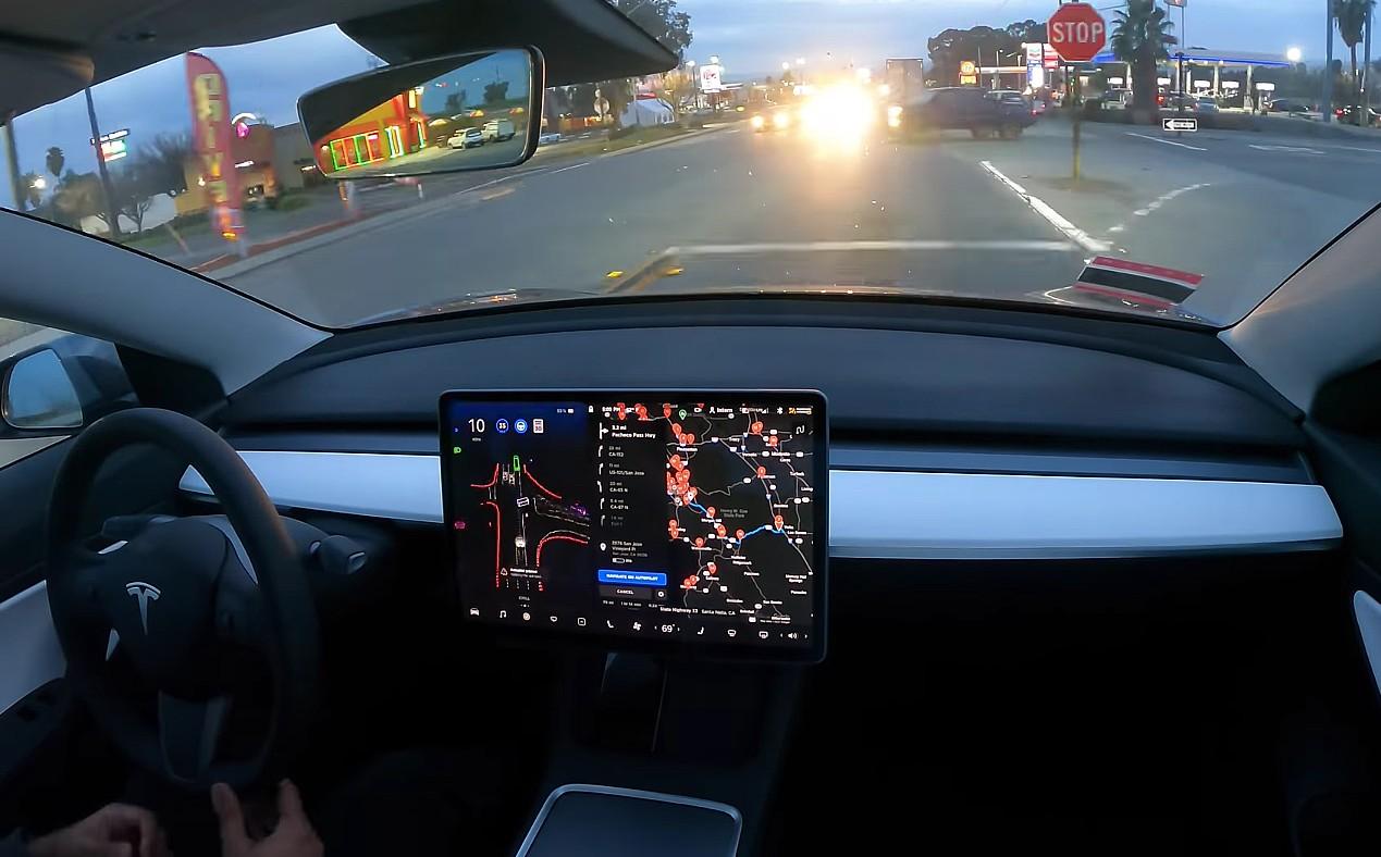 Tesla FSD Beta завершила поездку из Лос-Анджелеса в Кремниевую долину без каких-либо вмешательств