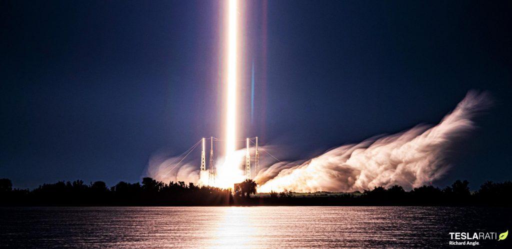 Ракета SpaceX Falcon 9 вдвое сократила рекорд оборачиваемости космических челноков