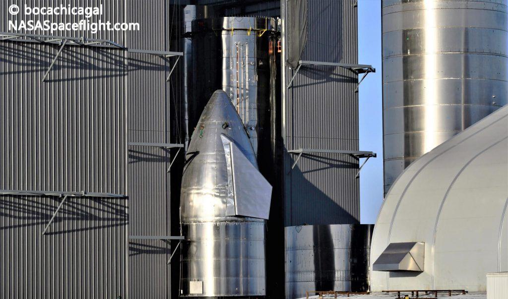 SpaceX сошла с конвейера последний звездолет в преддверии «крупных обновлений»