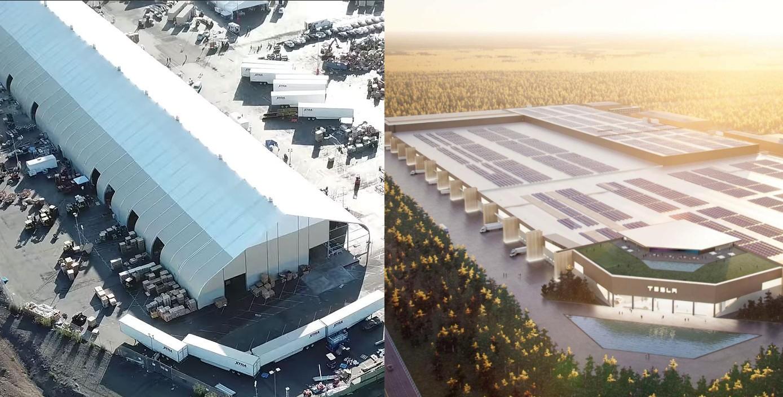 Формула Tesla Gigafactory возникла из скромной «палатки» на заводе Fremont Factory
