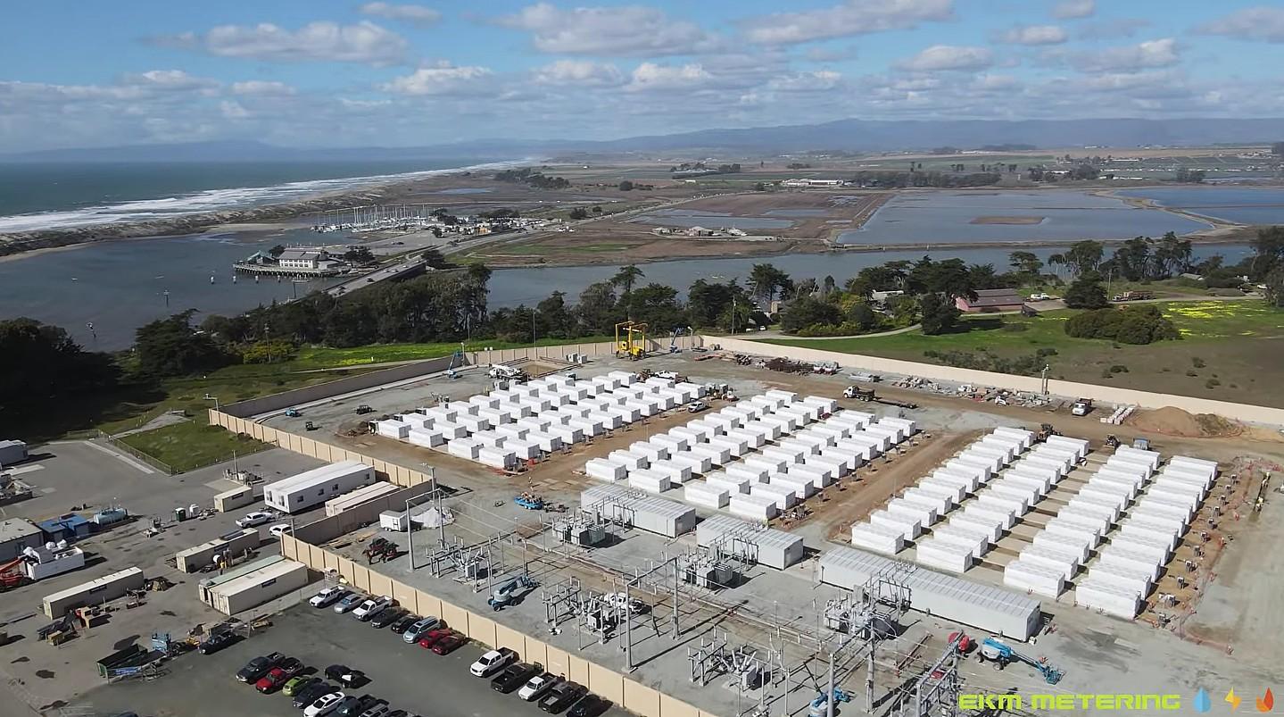 Аккумуляторная ферма Tesla Megapack в Moss Landing близится к завершению