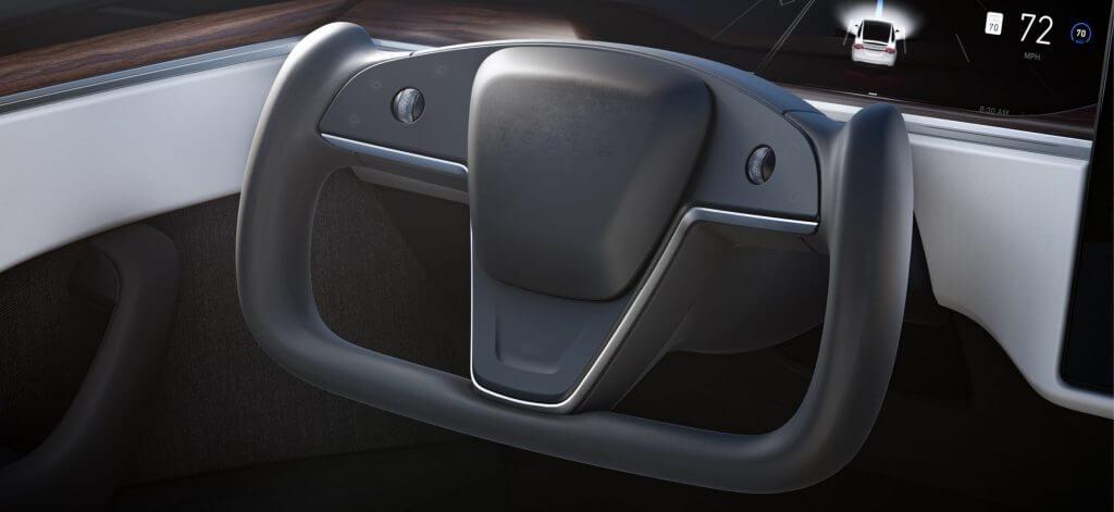Рулевое колесо-ярмо Tesla: NHTSA делает новое заявление