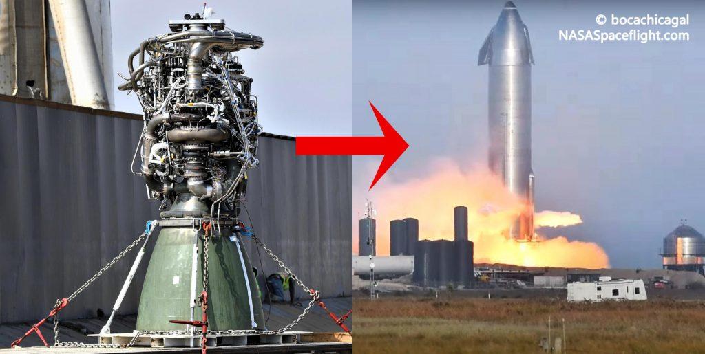 """SpaceX меняет """"подозрительный"""" двигатель Starship в рекордно короткие сроки"""